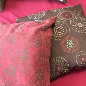 Pier 1 Imports set of pillows